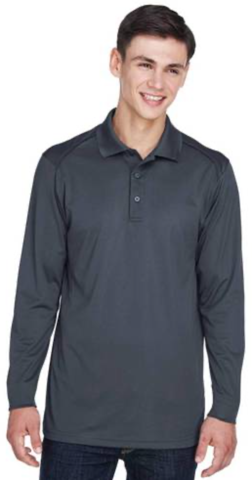 *** SPECIAL ORDER *** Shirts: Men's UV Protected Long Sleeve Polo Shirt