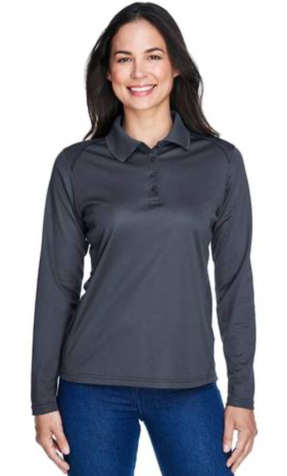 *** SPECIAL ORDER *** Shirts: Women's UV Protected Long Sleeve Polo Shirt